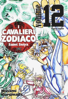Copertina CAVALIERI ZOD. Perf. Ed. Rist. n.12 - SAINT SEIYA PERFECT EDITION, STAR COMICS