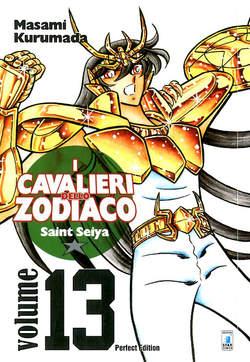Copertina CAVALIERI ZOD. Perf. Ed. Rist. n.13 - SAINT SEIYA PERFECT EDITION, STAR COMICS