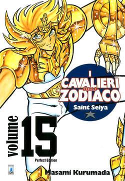 Copertina CAVALIERI ZOD. Perf. Ed. Rist. n.15 - SAINT SEIYA PERFECT EDITION, STAR COMICS