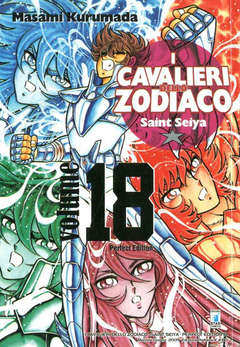 Copertina CAVALIERI ZOD. Perf. Ed. Rist. n.18 - SAINT SEIYA PERFECT EDITION, STAR COMICS