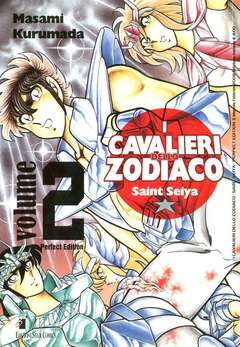 Copertina CAVALIERI ZODIACO n.2 - SAINT SEIYA PERFECT EDITION (m22), STAR COMICS