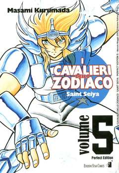 Copertina CAVALIERI ZODIACO n.5 - SAINT SEIYA PERFECT EDITION (m22), STAR COMICS