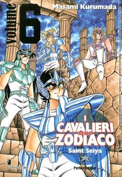 Copertina CAVALIERI ZODIACO n.6 - SAINT SEIYA PERFECT EDITION (m22), STAR COMICS
