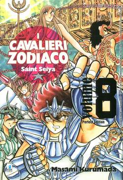 Copertina CAVALIERI ZODIACO n.8 - SAINT SEIYA PERFECT EDITION (m22), STAR COMICS