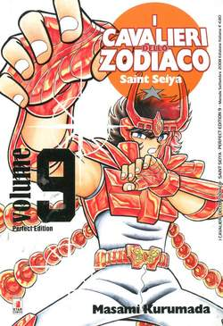 Copertina CAVALIERI ZODIACO n.9 - SAINT SEIYA PERFECT EDITION (m22), STAR COMICS
