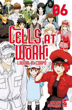 Copertina CELLS AT WORK! LAVORI IN CORPO n.6 - TARGET 112, STAR COMICS