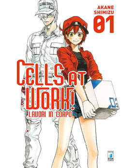 Copertina CELLS AT WORK! LAVORI IN CORPO n.1 - CELLS AT WORK! LAVORI IN CORPO, STAR COMICS