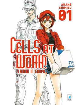 Copertina CELLS AT WORK! LAVORI IN CORPO n.1 - CELLS AT WORK! LAVORI IN CORPO, STAR COMICS
