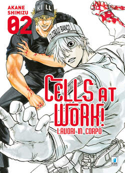 Copertina CELLS AT WORK! LAVORI IN CORPO n.2 - CELLS AT WORK! LAVORI IN CORPO, STAR COMICS