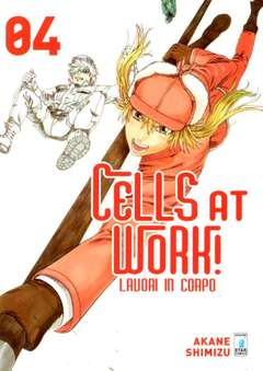 Copertina CELLS AT WORK! LAVORI IN CORPO n.4 - CELLS AT WORK! LAVORI IN CORPO, STAR COMICS