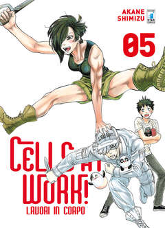 Copertina CELLS AT WORK! LAVORI IN CORPO n.5 - CELLS AT WORK! LAVORI IN CORPO, STAR COMICS
