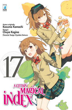 Copertina CERTAIN MAGICAL INDEX n.17 - A CERTAIN MAGICAL INDEX, STAR COMICS