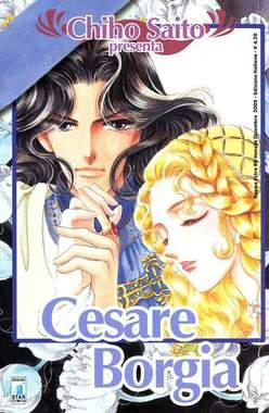 Copertina CHIHO SAITO PRESENTA n.10 - CESARE BORGIA, STAR COMICS