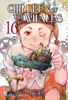 Copertina CHILDREN OF THE WHALES n.16 - MITICO 274, STAR COMICS
