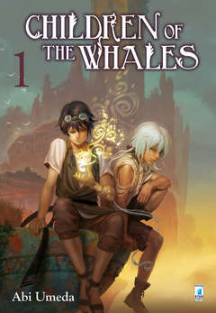 Copertina CHILDREN OF THE WHALES (m8) n.1 - CHILDREN OF THE WHALES - Variant Cover di PAOLO BARBIERI, STAR COMICS