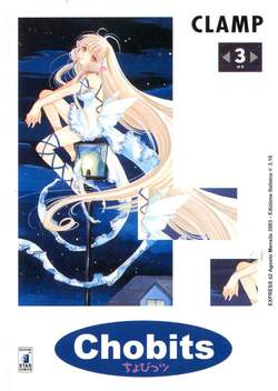 Copertina CHOBITS n.3 - CHOBITS 3, STAR COMICS