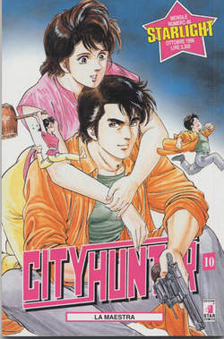 Copertina CITY HUNTER n.10 - CITY HUNTER 10, STAR COMICS