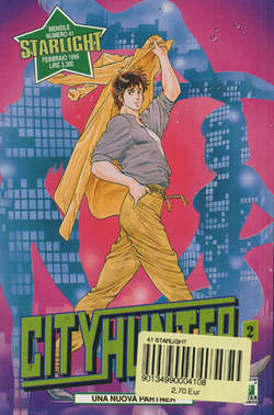 Copertina CITY HUNTER n.2 - CITY HUNTER 2, STAR COMICS