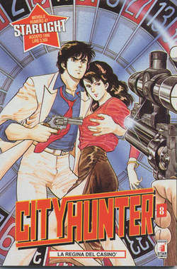 Copertina CITY HUNTER n.8 - CITY HUNTER 8, STAR COMICS
