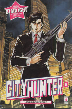 Copertina CITY HUNTER n.9 - CITY HUNTER 9, STAR COMICS