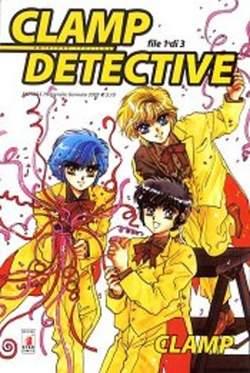Copertina CLAMP DETECTIVE n.1 - CLAMP DETECTIVE 1, STAR COMICS