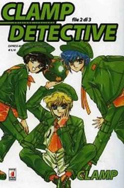 Copertina CLAMP DETECTIVE n.2 - CLAMP DETECTIVE 2, STAR COMICS