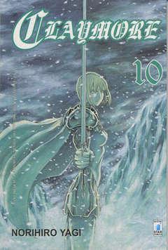 Copertina CLAYMORE n.10 - CLAYMORE 10, STAR COMICS