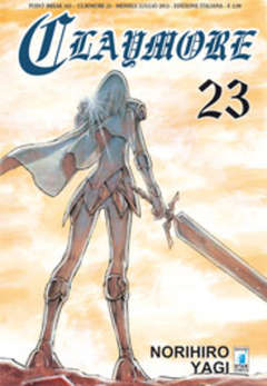 Copertina CLAYMORE n.23 - CLAYMORE 23, STAR COMICS