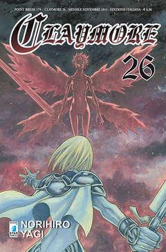 Copertina CLAYMORE n.26 - CLAYMORE 26, STAR COMICS