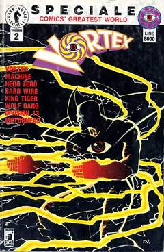 Copertina COMICS GREATEST WORLD SPECIALE n.2 - VORTEX, STAR COMICS
