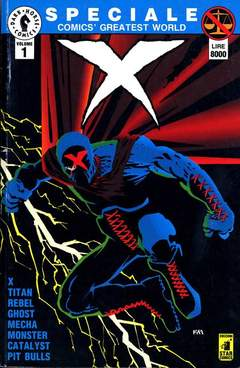 Copertina COMICS GREATEST WORLD SPECIALE n.1 - X, STAR COMICS