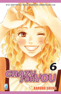 Copertina CRAZY FOR YOU n.6 - CRAZY FOR YOU, STAR COMICS