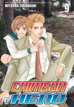 Copertina CRIMSON HERO n.9 - CRIMSON HERO 9, STAR COMICS