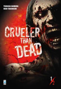 Copertina CRUELER THAN DEAD (m2) n.1 - CRUELER THAN DEAD, STAR COMICS