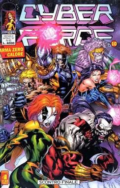 Copertina CYBERFORCE n.10 - CYBERFORCE             10, STAR COMICS
