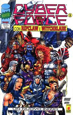 Copertina CYBERFORCE n.1 - CYBERFORCE              1, STAR COMICS