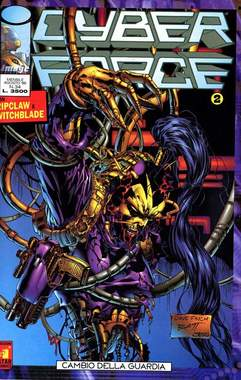 Copertina CYBERFORCE n.2 - CYBERFORCE              2, STAR COMICS