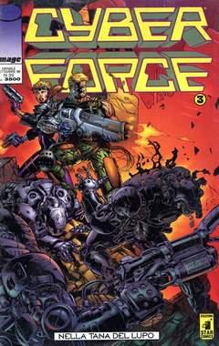 Copertina CYBERFORCE n.3 - CYBERFORCE              3, STAR COMICS