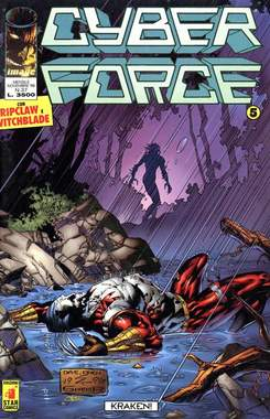 Copertina CYBERFORCE n.5 - CYBERFORCE              5, STAR COMICS