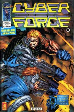 Copertina CYBERFORCE n.6 - CYBERFORCE              6, STAR COMICS