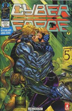 Copertina CYBERFORCE n.7 - CYBERFORCE              7, STAR COMICS