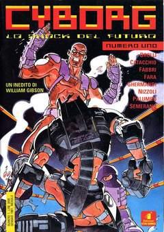 Copertina CYBORG n.1 - CYBORG                       1, STAR COMICS
