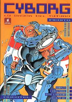 Copertina CYBORG n.3 - CYBORG                       3, STAR COMICS