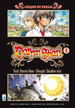Copertina DARREN SHAN n.1 - DARREN SHAN (m9), STAR COMICS