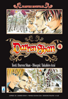Copertina DARREN SHAN n.4 - DARREN SHAN (m9), STAR COMICS