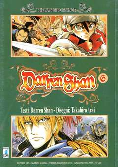 Copertina DARREN SHAN n.6 - DARREN SHAN (m9), STAR COMICS