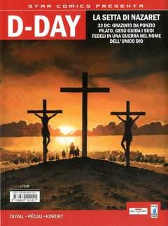 Copertina D-DAY n.1 - EFFENDI COLOMBO/LA SETTA DI NAZARET, STAR COMICS