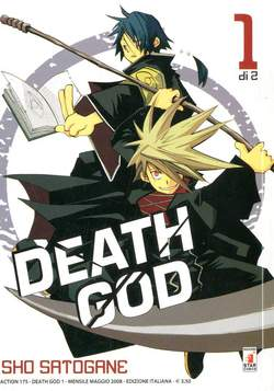 Copertina DEATH GOD n.1 - DEATH GOD 1, STAR COMICS