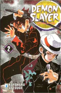 Copertina DEMON SLAYER n.2 - BIG 42, STAR COMICS