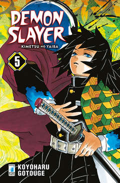Copertina DEMON SLAYER n.5 - BIG 48, STAR COMICS